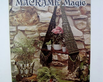 Macrame Patterns - Macrame Lamp - Angel, Plant Hangers, Wall Hanging Shelf