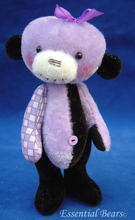 Belladonna teddy bear e-pattern