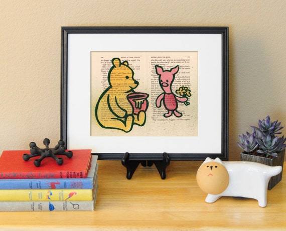 Winnie the Pooh and Piglet LitKids Print