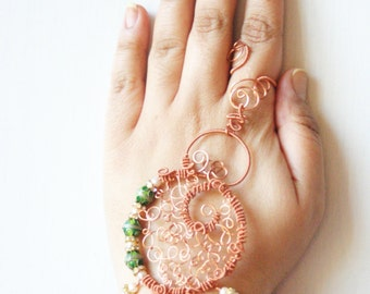 Aabha /// Slave Bracelet by Jhumki - designs by raindrops