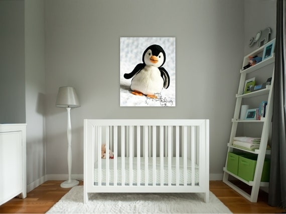 Items Similar To Penguin Print Baby Nursery Decor Toddler
