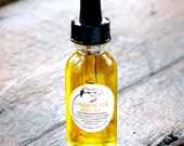 NEW - Linden Body Oil - Infused Flowers - All Organic - Skin Soothing, Repair, Moisturizing - Aromatherapy - 1 oz glass bottle