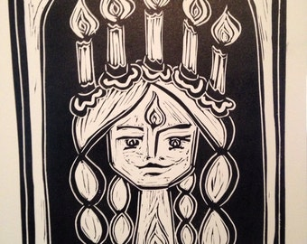 Lucia, Saint Lucy - bring light to the darkness