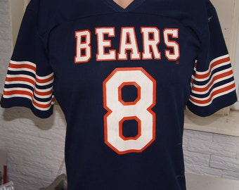 Chicago Bears Jersey (vintage) 80s Rawlings Number 8 Medium (42 inches around chest)