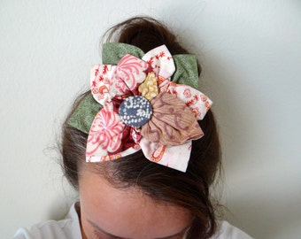Tracy Porter Handmade Flower Hair Barrette