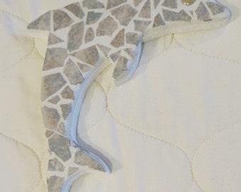 Dolphin Mosaic Plaque