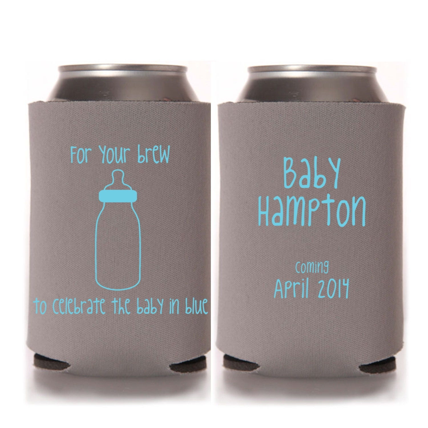 Boy Baby Shower Favors For Your Brew to Celebrate the Baby