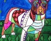 60% Off- Teddy Roosevelt Terrier art Art Print Poster by Heather Galler (HG866)