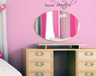Wall Decal - Confident Beautiful