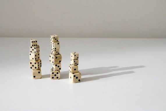 LAST ONE Bone Dice Collection