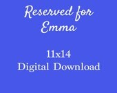 Reserved for Emma: 11x14 Flying Attitude Digital Download