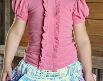 Girl's Dusty Pink T shirt