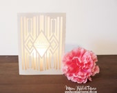 New Dakota Decorative Luminary Wedding Luminary, Table Decor, Party Decor, Southwestern Decor