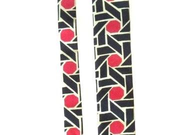 1960s Rooster Graphic Necktie
