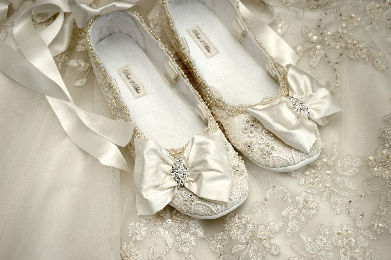 sepatuwanitaterbaru2016: Ballet Wedding Shoes Images