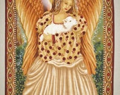 Angel Wall Hanging fabric from Michael Miller