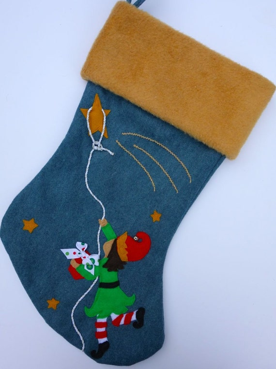 Special Delivery Handmade Christmas Stocking By