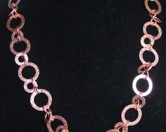 LATEST JEWELRYLISTINGS - Solid Copper Hand Forged Necklace