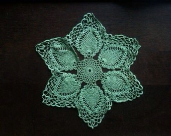 Vintage English Mint Doily Coaster Table Protector circa 1960-70's / English Shop