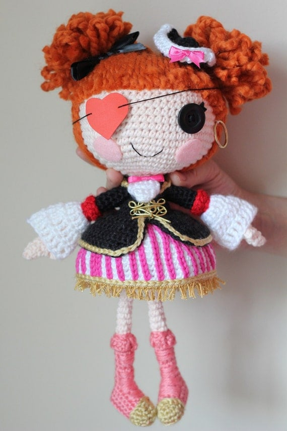 PATTERN: Peggy Crochet Amigurumi Doll by epickawaii on Etsy