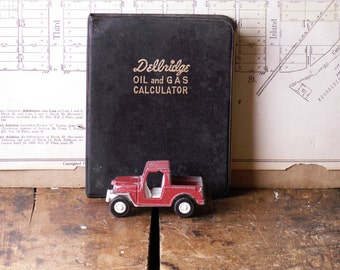 Vintage Dellridge Oil and Gas Calculator Book - Great Ephemera!