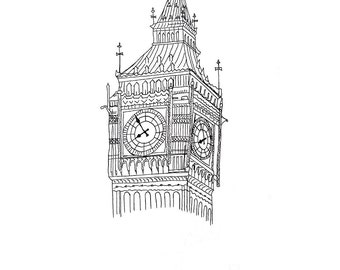 Big Ben Clip Art Black and White – Cliparts | 340 x 270 jpeg 14kB