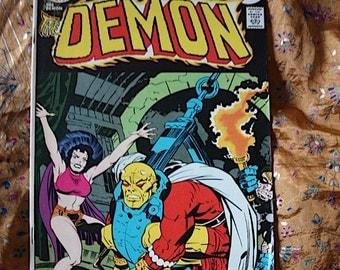 The Demon No 16 DC Comic Book 1974 Etrigan Jason Blood Sorceress Immortal Enemy Jack Kirby art