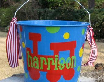 Personalized Custom Bucket - Monogram Bucket - 5 quart bucket