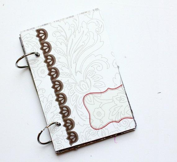 Alpine Frost - Christmas Winter Minibook Kit - Cream