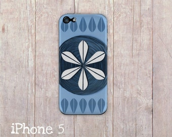 Cathrineholm iPhone Case, iphone cover, iphone 6, iPhone 5 case, iPhone 4 case, hard case, Paper Quilling, paper art print