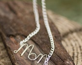 Clearance, Hope, Love, or Mom Necklace Hand Wrapped