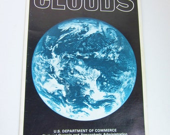 Vintage 1974 CLOUDS Pamphlet from the National Oceanic & Atmospheric Administration
