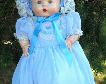 Vintage Baby Doll, American, Unknown Maker, 1940's