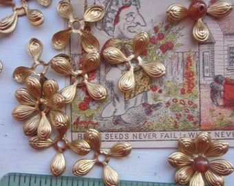 20 Wonderful Vintage Metal Hydrangea Flowers