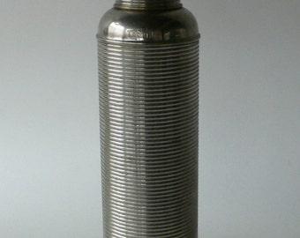 Vintage Thermos chrome art deco industrial from Diz Has Neat Stuff