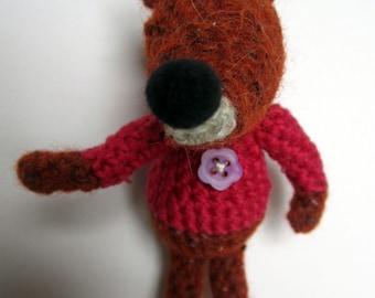 Crochet Pattern for Florence Fox