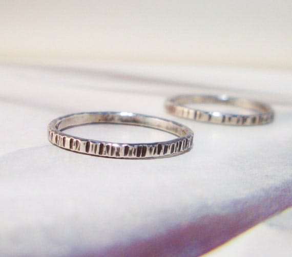 Marked Ring in Sterling Silver