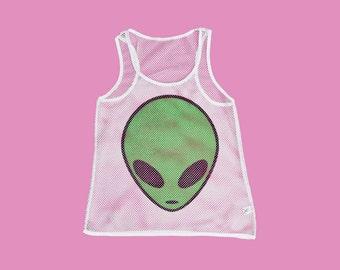 Alien Mesh Tank