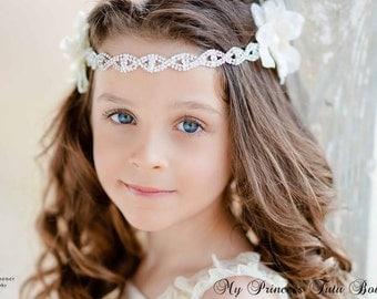 Flower Girl Headband Flower Girl Tiara Flower Girl Tutu Dress