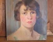 Realism Art, Oil Painting ,Oil on Canvas Portrait Painting by Van de Witt Copeland of Von Billow