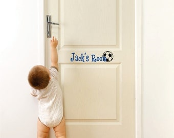 Small Decals- Name Wall Decal - Small Decal - Boys Room Door Decal- Wall Art- Home Vinyl Wall Decals