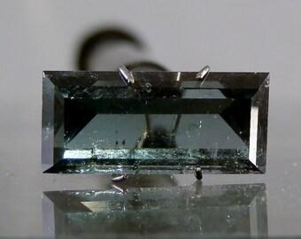 Loose Rare Gemstone 8.75 carat Loose Indicolite Tourmaline Gemstone Lapidary Supply Jewelry Supply Fine Natural Tourmaline DanPickedMinerals