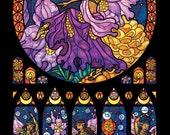 Full Size - Fairy Diwali Dancers Illustration