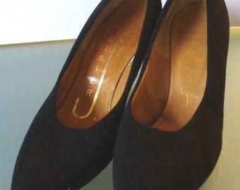 Vintage Mister J Suede Stiletto Heels Size 7