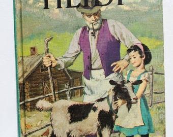 "Vintage Conpanion Book ""Heidi"" and ""Hans Brinker"""