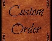 CUSTOM ORDER For ifanora