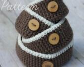 Crochet PATTERN Nesting Bowls for Dorm or Office
