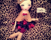 Art Doll/ Hello Dolly with Beret