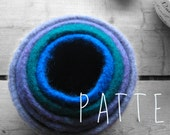 FELTED BOWL PATTERN tutorial - nesting bowls - make five different sizes
