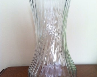Vintage Hoosier Glass Vase 4091